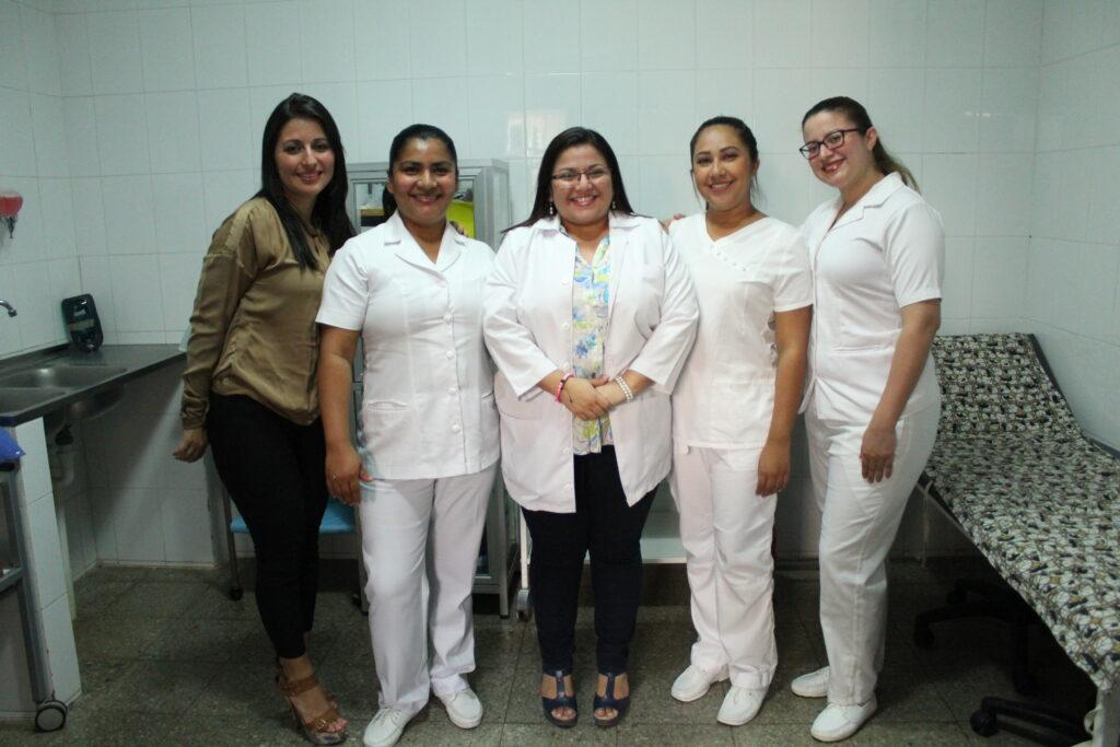 Das Klinik Team bei NPH El Salvador
