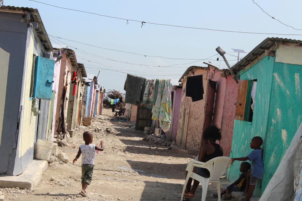 Armenvierte in Haiti